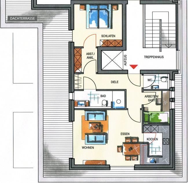 Wohnungstypen